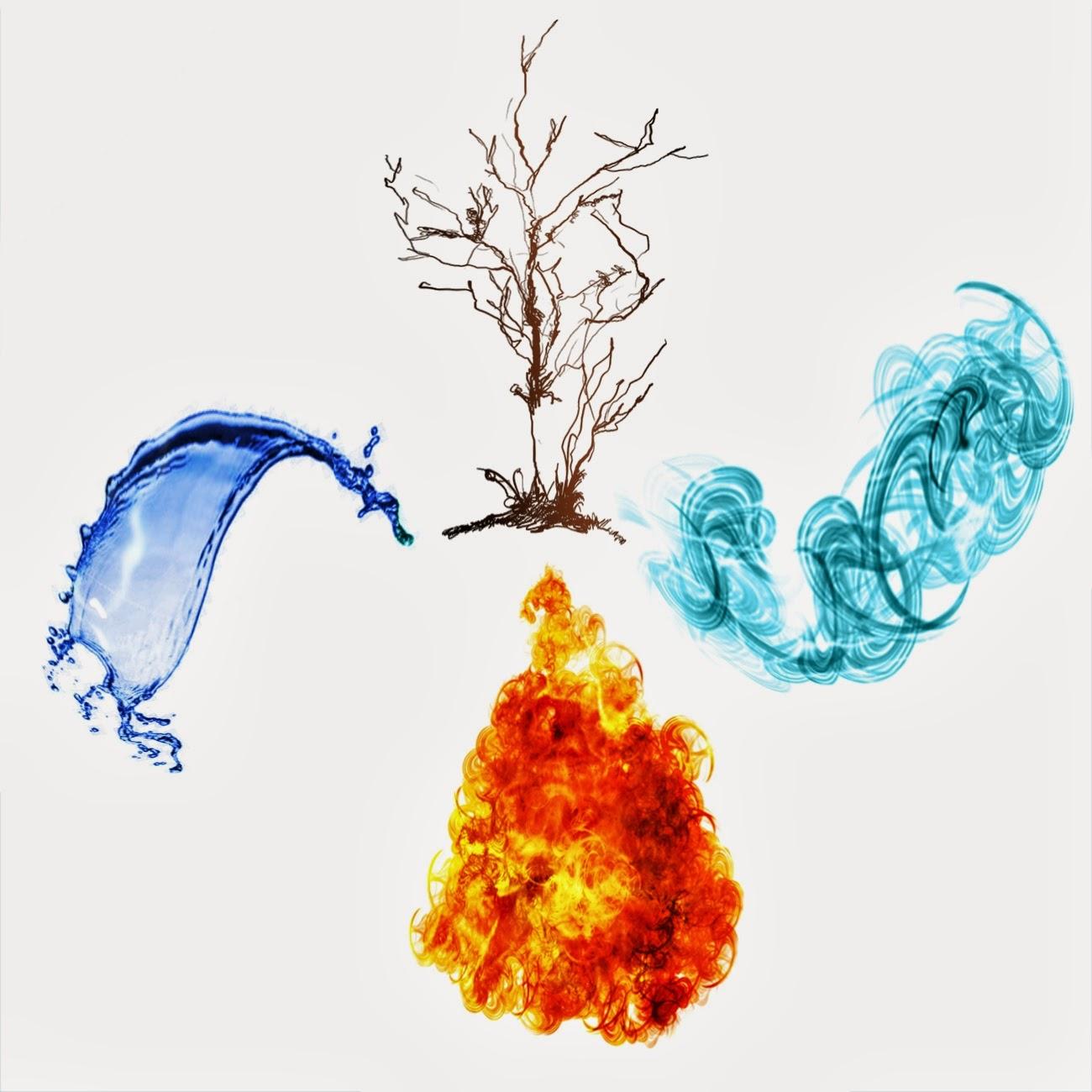 4 elementos bruto